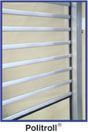 Politroll Transparent safety rolling shutter